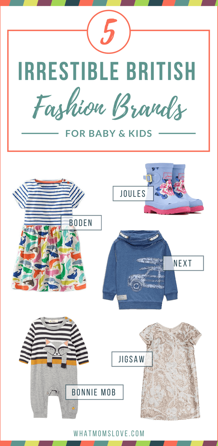5 British Clothing Brands for Babies and Kids You Ought to Know