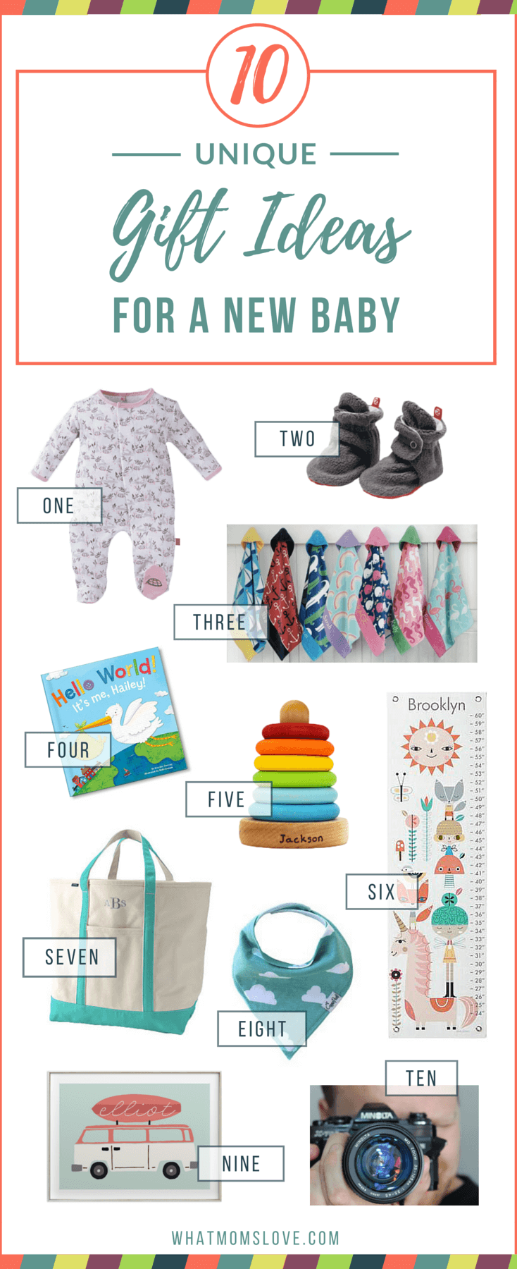 10 Unique Best Gifts to Welcome a New Baby