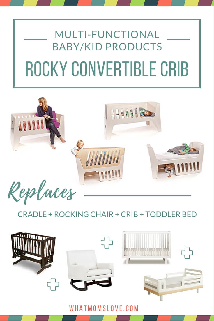 Rocky Convertible Bed - a bed that will grow with your baby