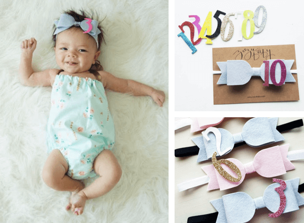 5 Unique And Easy Ideas For Your Baby S Monthly Milestone Photos That Go Beyond The Onesie Sticker What Moms Love