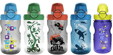 Nalgene On The Fly Kids Water Bottle - ranked as one of our best water bottles for kids