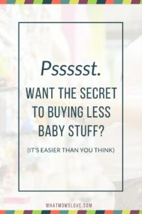 The secret to less baby stuff? 10 multi-functional products that will grow with your child.