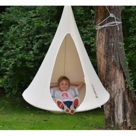 Cool outdoor swings and hide-outs for kids - Cacoon