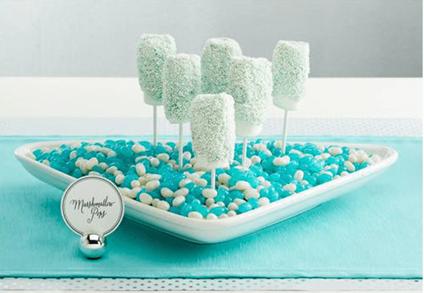 Easy Disney Frozen Treat Ideas - Marshmallow Pops by Inspired Bride