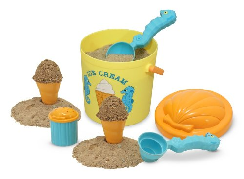 Beach Guide with Kids. Melissa and Doug Sunny Patch Sand Ice Cream Set