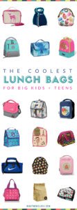 Best Lunch Bags for Kids and Teens | Insulated lunch boxes with cute patterns, innovative design and stylish finishes | Back to School shopping guide