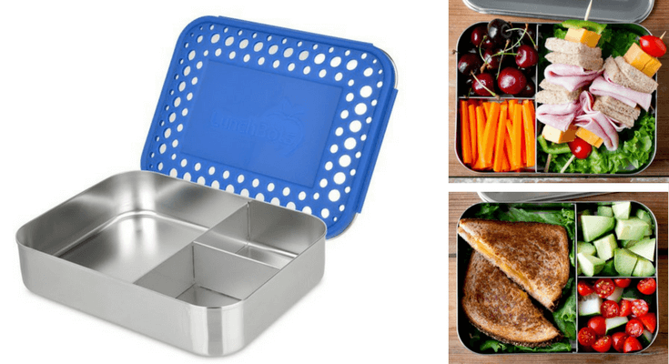 Best Bento Lunch Boxes for kids Lunchbots Trio