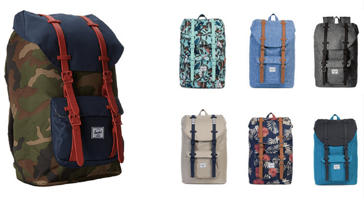 Herschel Little America Backpack Mid Volume - Best Backpacks for Teens and Tweens for Back to School