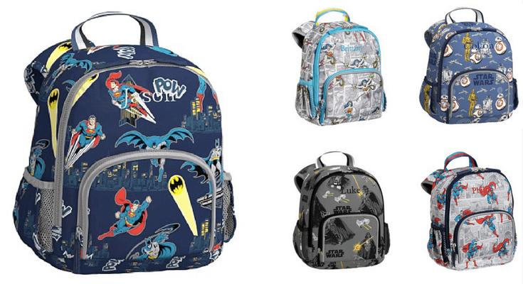 PBK Heroes and Villians backpacks - Best Toddler Backpacks for back to school