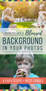 How To Get A Blurred Background In Your Photos | How To Take Better Photos | Best Lenses For Blurry Background