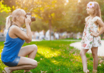 How To Get A Blurred Background When Photographing Your Kids In 4 Easy Steps (You'll Never Pay For Professional Photos Again!)