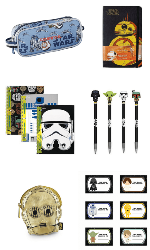 Star Wars school supplies for back-to-school
