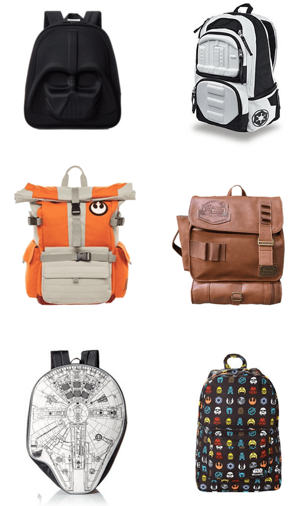Cool Star Wars backpacks for back-to-school