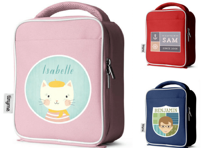 Tinyme Personalized Lunch Bags What