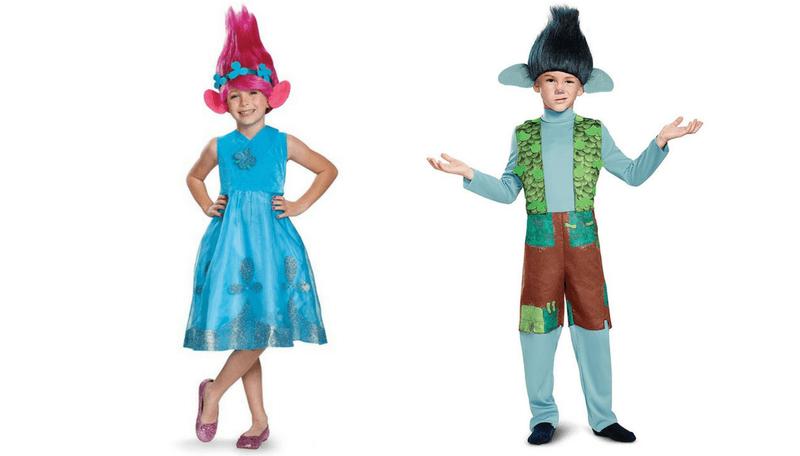 Halloween sibling Costume ideas - trolls