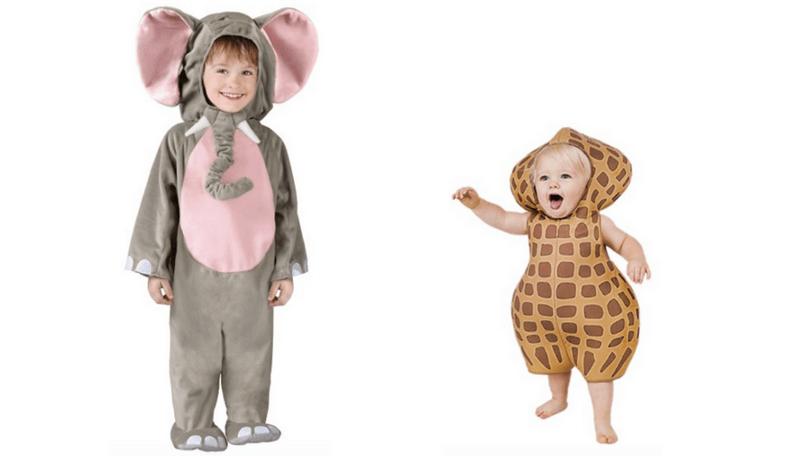 Brand New Elephant Animal Cuddly Toddler Halloween Costume