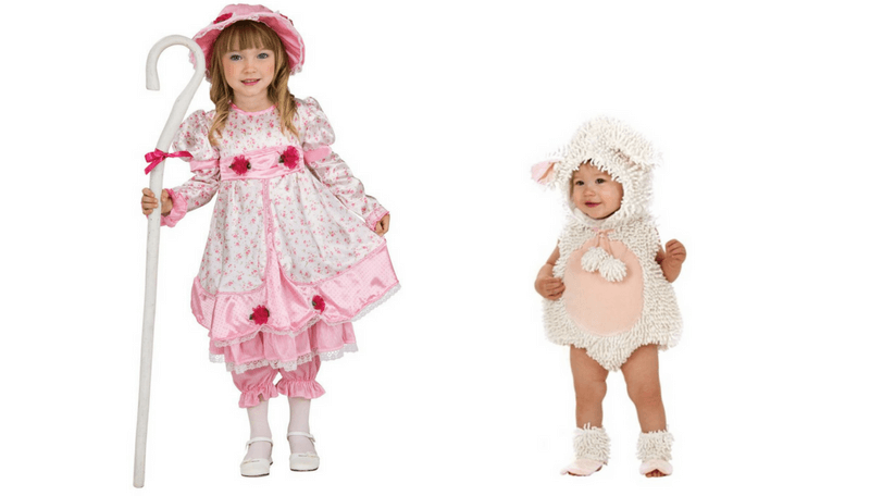 Baby Lamb Costume Newborn Toddler Mary Had a Little Lamb Halloween Fancy Dress