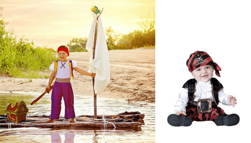 Creative Halloween Costumes for Siblings - Jake and Neverland Pirates