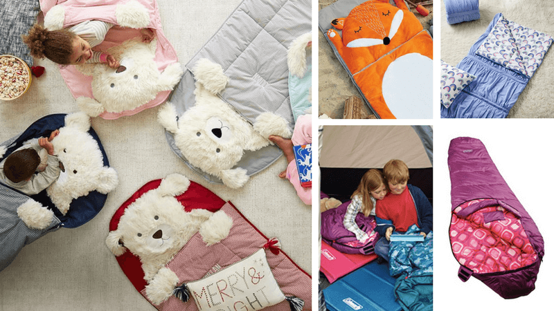 Best Non-Toy Gifts for Kids - Sleeping Bag