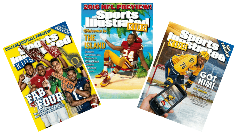 Best Magazines for Kids - Sports Illustrated Kids
