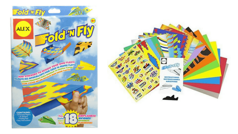 Best Non-Toy Gifts for Kids - Hobbies & Interests - Paper Airplanes
