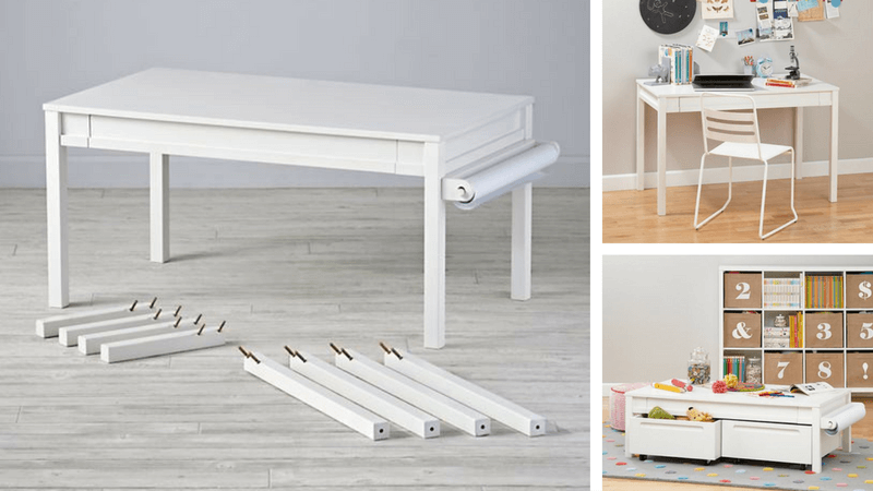 Best Non-Toy Gifts for Kids - Train and Activity Table
