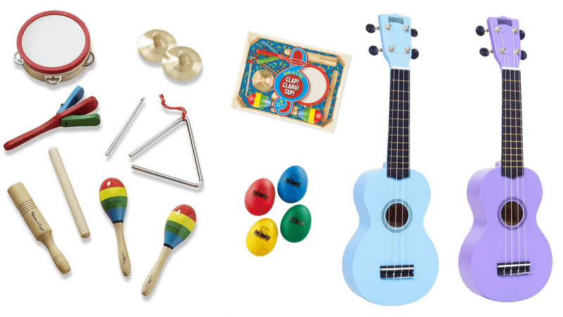 Best Non-Toy Gifts for Kids - Hobbies & Interests - Musical Instruments