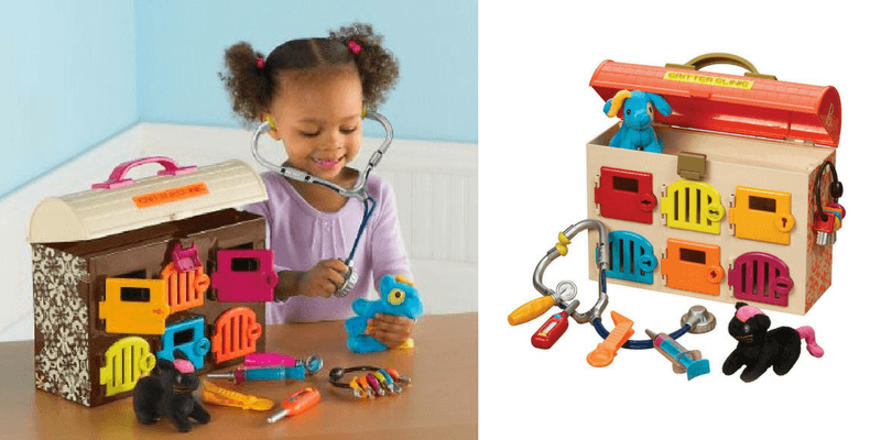 Gift Guide Best Toys for Doll Lovers - B. Critter Clinic