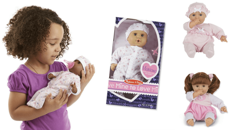 Gift Guide Best Toys for Doll Lovers - Melissa and Doug Mine To Love Dolls