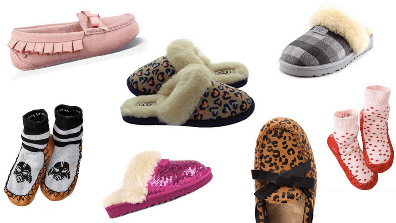 Best Non-Toy Gifts for Kids - Slippers/Moccasins