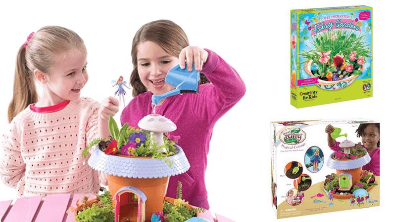 Best Non-Toy Gift Guide for Kids - Fairy Garden Kit