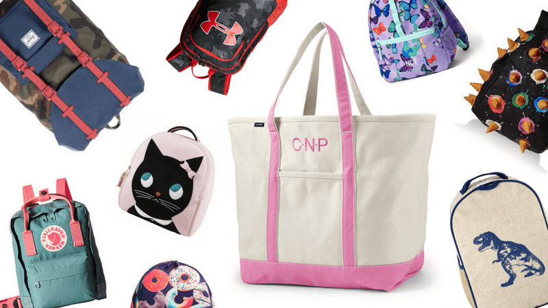 Best Non-Toy Gifts for Kids - Backpack and Tote Bag