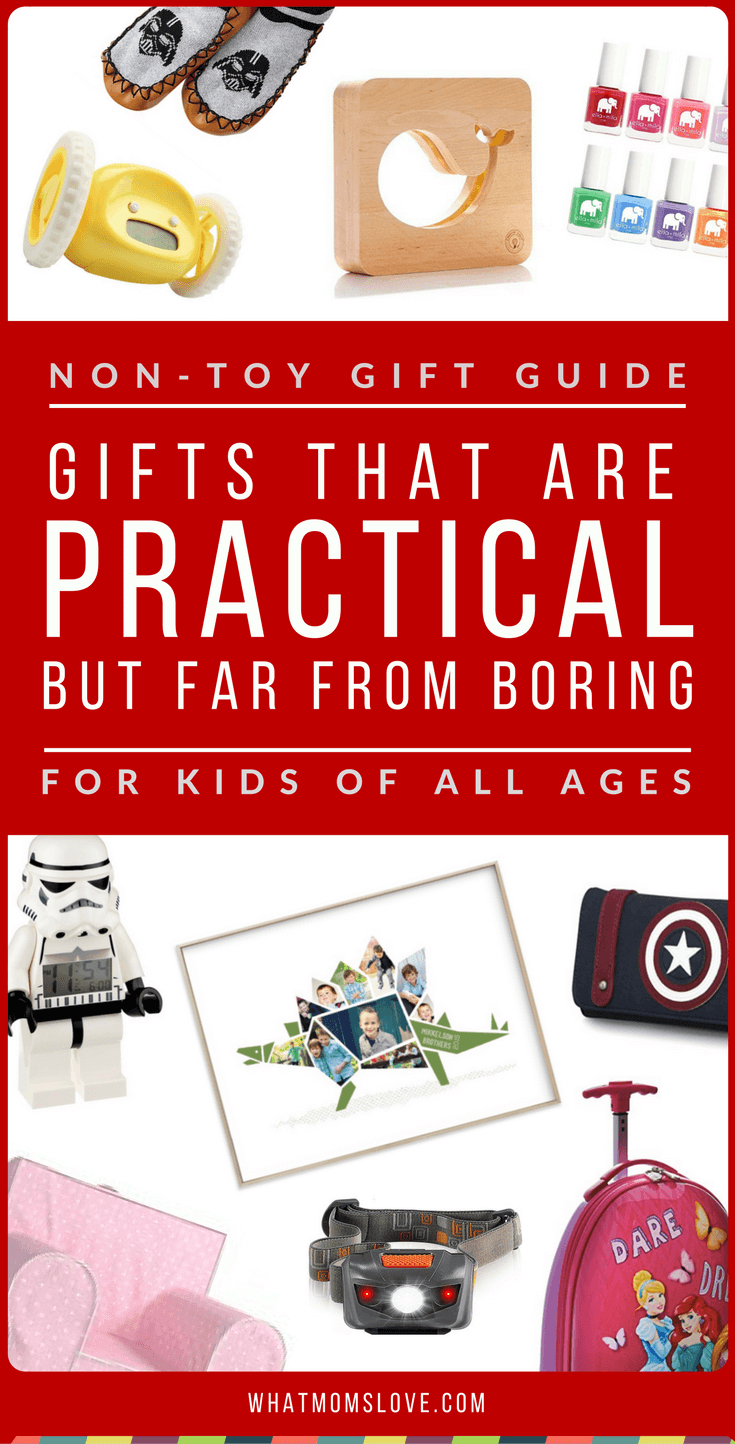 Non Toy Gift Guide Gifts That Are Practical But Far From Boring What Moms Love