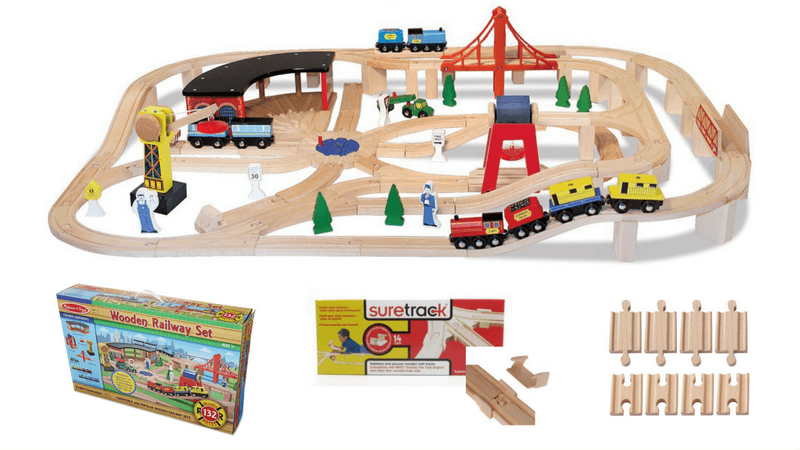 Best Building Toys For Kids | Best Wooden Train Set For Kids | Great Gift Ideas For Girls and Boys