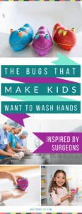 Scrub Bugs - the simple tool you need to keep your child healthy | Fun ways to get my child to wash their hands | Ideas to keep my kids healthy, not sick and germ free