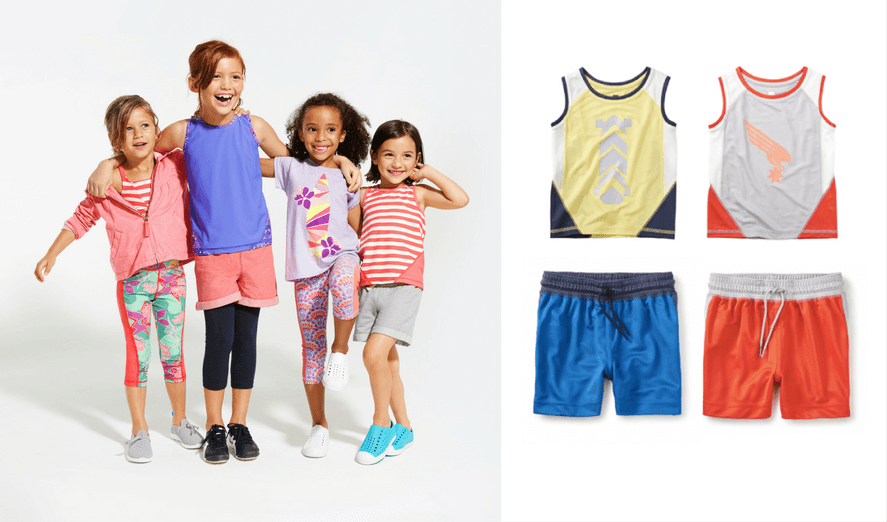 Tea Collection Active Wear - Best Active Indoor Activities For Kids | Fun Gross Motor Games and Creative Ideas For Winter (snow days!), Spring (rainy days!) or for when Cabin Fever strikes | Awesome Boredom Busters and Brain Breaks for Toddlers, Preschool and beyond to get their energy out!