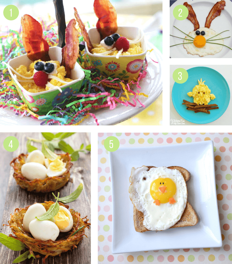 Easter Breakfast Ideas for Kids | Healthy, easy and fun recipes for you to make - also great for brunch!
