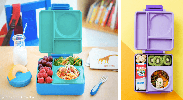 Best Bento Lunch Boxes for kids Omiebox review | Back to School Guide