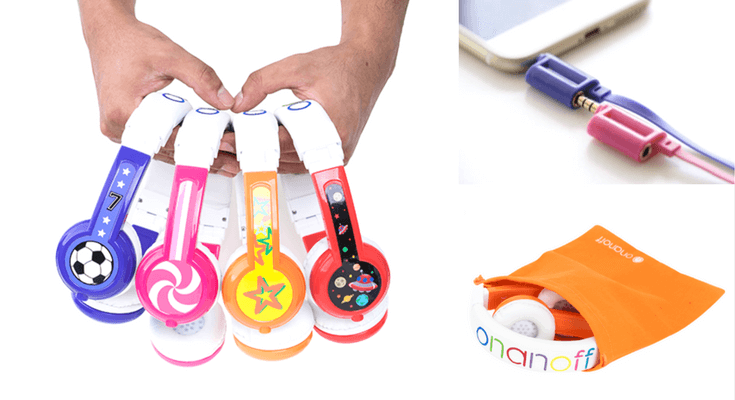 Best Headphones For Kids - ONANOFF BuddyPhones