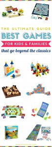 Best Boards Games for Kids and Families | Fun learning and educational games that go beyond the classic - these make awesome birthday or christmas gifts