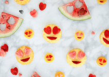 Heart Eye Emoji Fruit Salad – A Healthy Valentine's Day (Or Any Day) Snack
