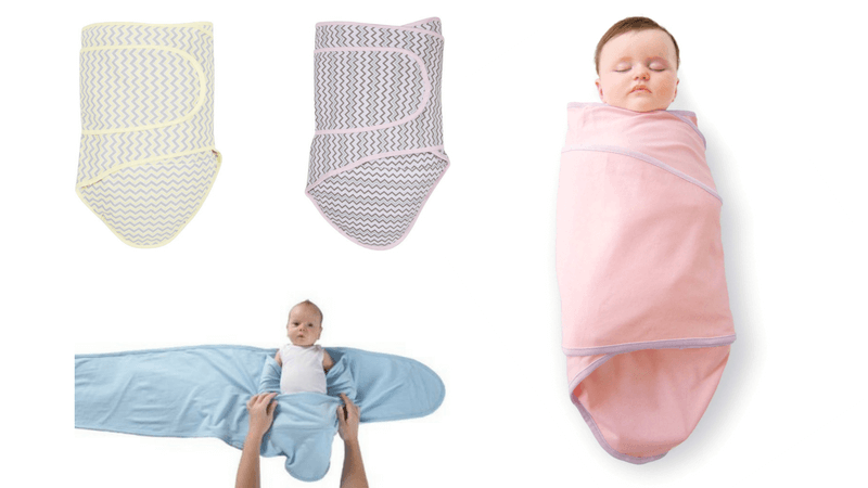 Multiple Variations Miracle Blanket Baby Swaddle Blanket 0-3 MONTHS