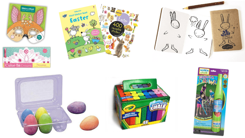 Non-Candy Easter Basket Ideas for Kids Of All Ages - from babies, to toddlers, tweens and teens. Unique gifts, goodies and fillers for boys and girls that aren't junk!
