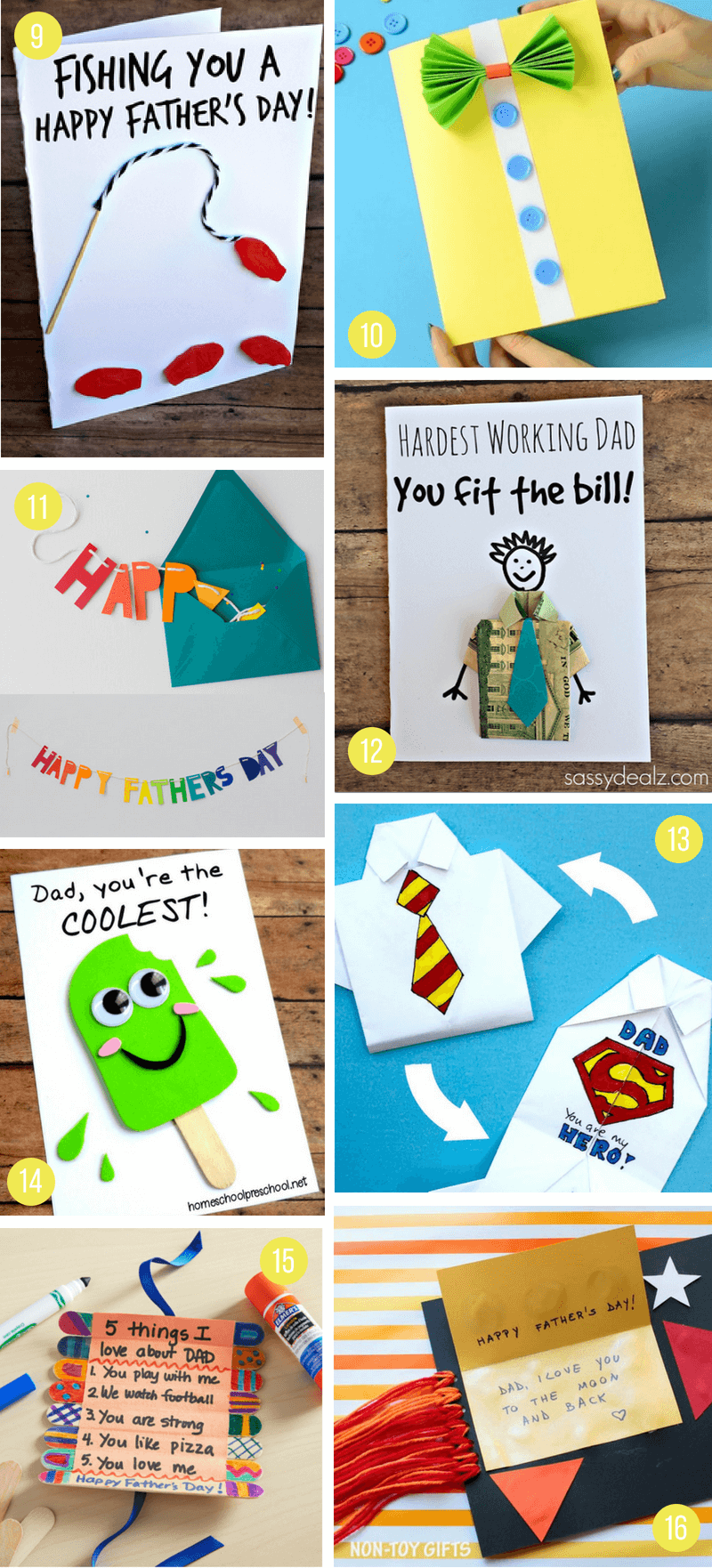 Handmade Personalised /'Super Grandad/' Birthday Father/'s Day Fathers Card