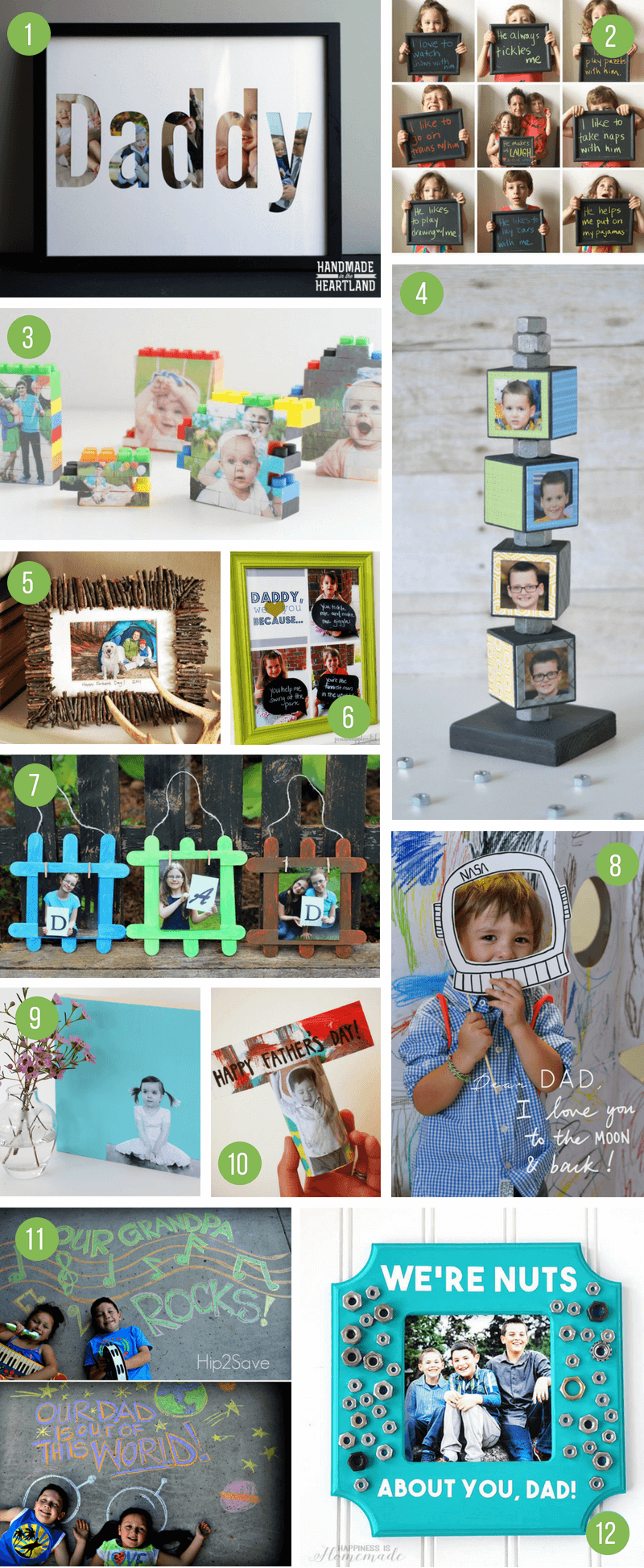 DIY Father's Day Gift Ideas From Kids