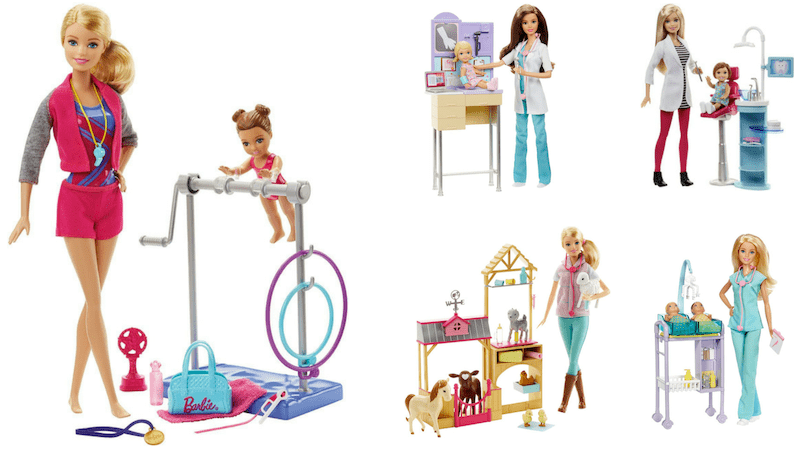 Gift Guide Best Toys for Doll Lovers - Barbie Careers