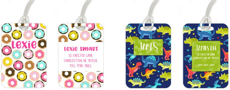 Best Non-Toy Gifts for Kids - Luggage Tag