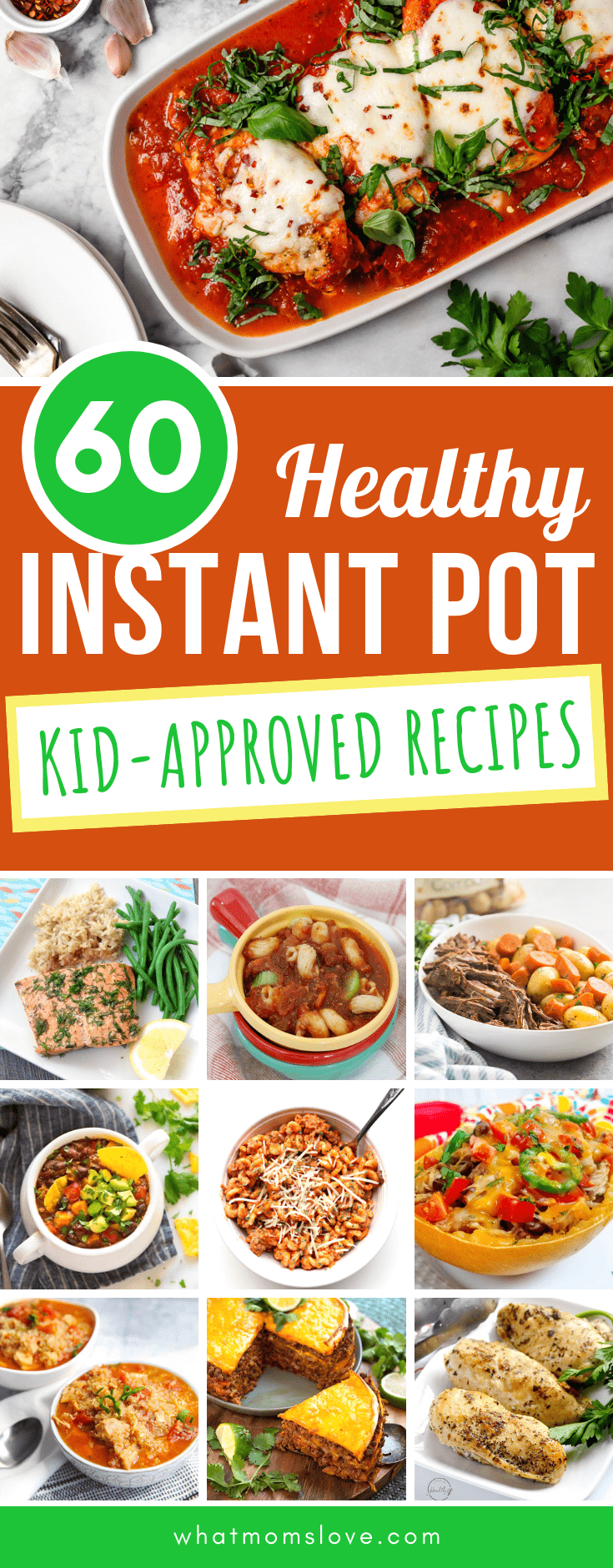 60 Kid Friendly Healthy Instant Pot Recipes Your Whole Family Will Enjoy What Moms Love