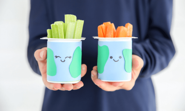 Upcycled Earth Day Craft + 20 More Genius Ways To Reuse Everyday Items (Like Yogurt Containers!)