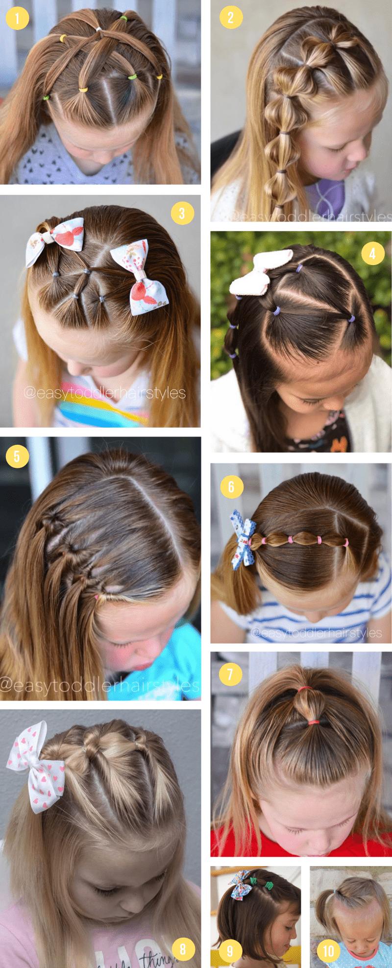 Easy Girls Hairstyles For Toddlers Tweens Teens What Moms Love
